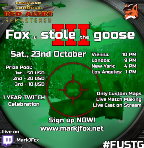 Fox u stole the goose #3 – sign up open